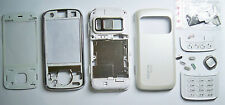 White Fascia housing cover facia faceplate case for Nokia N86