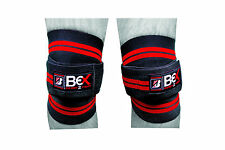 BEX Knee Wraps Weight Lifting Bandage Straps Guard Pads Sleeves Power Lifting
