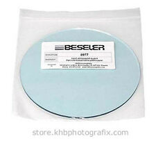 "New 6½"" Heat Absorbing Glass for Beseler 4x5 Condenser Enlargers"