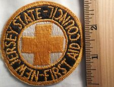 NEW JERSEY STATE FIRST AID COUNCIL PATCH (POLICE, EMS)