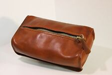 Rare VINTAGE Tan WETPACK TRAVEL CASE SHAVE PACK COSMETIC BAG VGC  5030 USA Nice