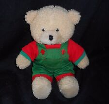 "12"" VINTAGE CHOSUN CARSON PIRIE SCOTT TAN TEDDY BEAR STUFFED ANIMAL PLUSH TOY"