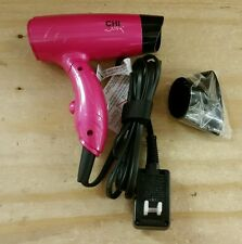 CHI Air Travel Fold Up Hair Blow Dryer Pure Pink Dual Voltage