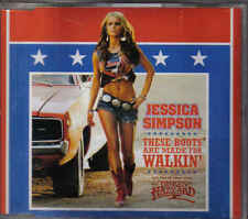 Jessica Simpson-These Boots Are Made For Walking Promo cd single