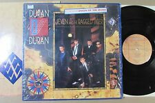 DURAN DURAN seven and the ragged tiger US ORIGINAL LP SHRINK HYPE STICKER INNER
