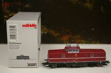 Märklin H0 36081 Diesellok V 80 005 der DB  Schalldämpfer Ep.III Dig Neu/OVP B37