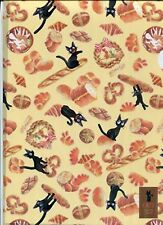 New Plastic Folder Cream A4 A Kiki's Delivery Service Cat Animal Stationary Case