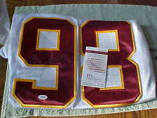 Redskins Autographed Brian Orakpo Jersey WHITE with JSA COA #W190243  NICE!!