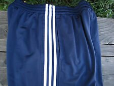 Adidas Racing Stripe Athletic Pants Navy Blue 3 stripe Size L