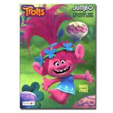 2 Pack Dreamworks Trolls 96 Pages Jumbo Coloring Book HUG ME Activity Book NEW