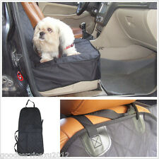 Waterproof Black Oxford Vehicles Front Seat Pet Protector Mat Bucket Pad Cushion