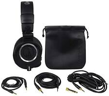 Audio Technica ATH-M50X Over Ear Professional Studio Monitor Headphones W/ Case