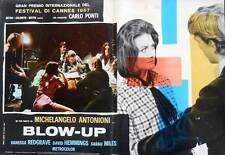 BLOW UP Italian fotobusta photobusta movie poster 4 MICHELANGELO ANTONIONI