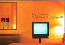 DEPECHE MODE Only When I lose Myself Promotional postcard 8x6 inches