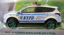 Greenlight Motor World Series 16 NYPD 2014 Ford Escape 1:64 Scale RARE Chase Car
