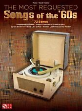 The Most Requested Songs Of The 60s SIXTIES Play Piano Vocal Guitar Music Book