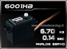 6001HB SERVO ANALOGICO DA 6.7 kg 0.14 sec HIGH SPEED POWER HD ANALOG 4,8V/6V