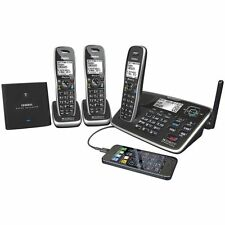 UNIDEN XDECT 8155+2 DIGITAL CORDLESS PHONE BLUETOOTH USB CHARGING PHONE SYSTEM
