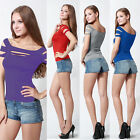 New Bust Hole Exposure Chest Hollow Out Women Sexy Tops Fashion Women Club Wear