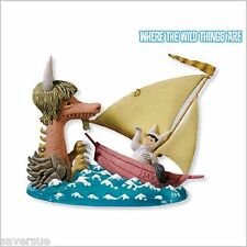 2010 HALLMARK Ornament Max Sets Sail~Where The Wild Things Are