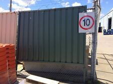 Steel Fencing equivalent to color bond fence buy 24m get 7m for free