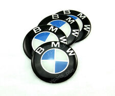 4pc (silicone)  BMW Logo Rim Center Stickers 64mm Replacement Wheel Covers Decal