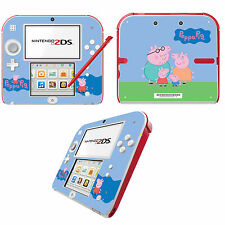 Peppa Pig Vinyl Skin Sticker for Nintendo 2DS