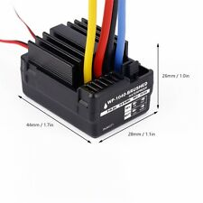WP 1040 60A Waterproof Brushed ESC Controller for Hobbywing Quicrun Car Motor F4