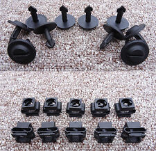 BMW ENGINE UNDERTRAY CLIPS AND CLAMPS SPLASHGUARD UNDER COVERS SET OF 10