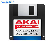 Akai MPC2000XL Operating System on Floppy Disk Version 1.20