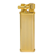 Tsubota Pearl Bolbo Japanese Premium Pipe Lighter Gold Striped
