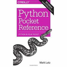 Python Pocket Reference 5e Mark Lutz O'Reilly Media Inc USA PB / 9781449357016