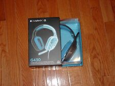 LOGITECH G430 981-000536 Dolby 7.1 surround sound Gaming Headset