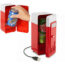Mini USB Portable Red Refrigerator Fridge Cooler/Warmer Car Boat Home Office New