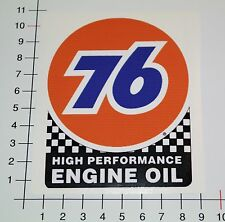 76 GASOLINE ENGINE OIL Aufkleber Sticker Oldschool Burnout Hot Rod US CARS Mi340