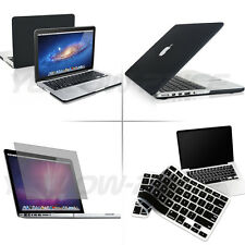 "3 IN 1 Hard Rubberized Case Keyboard Cover For Macbook Pro w/ Retina 13"" Laptop"