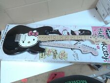 squier hello kitty stratocaster electric guitar ebay. Black Bedroom Furniture Sets. Home Design Ideas