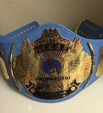 WWF/WWE BLUE WINGED EAGLE CHAMPIONSHIP TITLE BELT ADULT