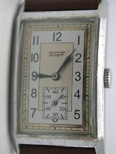 Vintage Tissot Watch Rectangular 1930's to 40's ERA (25.5mm) Calibre 20