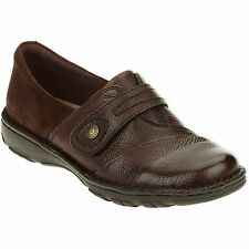 Earth Spirit US Shoe Size 9 Women's Coni Casual Slip on Brown Leather Comfort