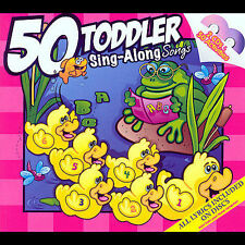 50 Toddler Sing-Along Songs 2 CD Set 2006 by Twin Sisters Productions