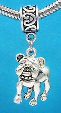 Cute French Bulldog Lovers Slider Dangle Charm for Bracelets OR Necklace