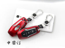 Coche Red FOB key case Remove Cover Shell Fit For Ford Mondeo Mustang Edge