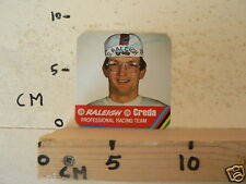 CARDBOARD MINI JAN RAAS ? RALEIGH TI CREDA PROF. RACING TEAM NOT 100 % OK