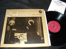 BACH Christmas Oratorio VOX 3 Lp Set WIENER Symphoniker Boxed Set with Booklet