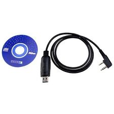 USB Programming Cable for Baofeng Radio UV-5R UV-3R+ Two way Radio w/ Driver CD
