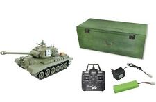 RC Panzer Pershing M26 Schuss Rauch Sound inkl Holzkiste  23061