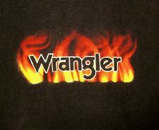WRANGLER lrg western T shirt 1999 country cowboy Hot on Heels of Victory tee