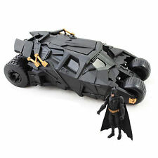 BATMAN The Dark Knight with Action Figures Batmobile Tumbler Vehicle Kid Toys