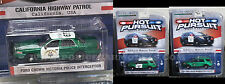 Greenlight GREEN MACHINE CHP California Highway Patrol SUVs & Crown Vic 3 MODELS